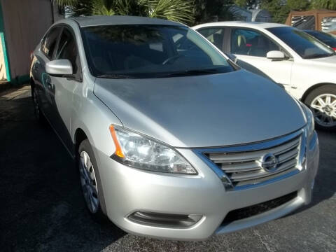 2013 Nissan Sentra for sale at PJ's Auto World Inc in Clearwater FL