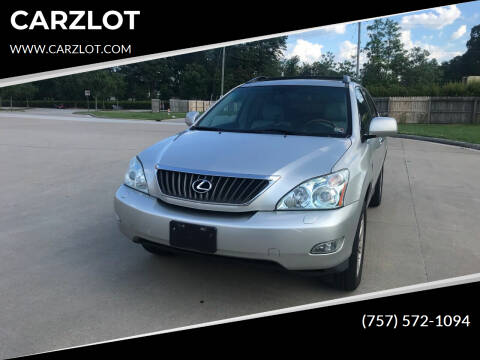 2008 Lexus RX 350 for sale at CARZLOT in Portsmouth VA