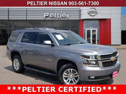 2019 Chevrolet Tahoe for sale at TEX TYLER Autos Cars Trucks SUV Sales in Tyler TX