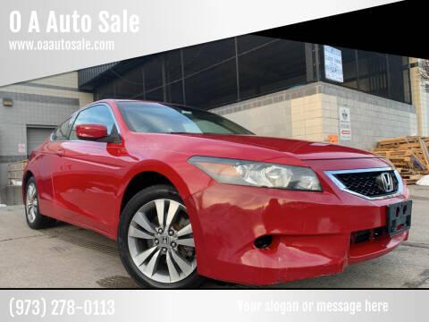 2008 Honda Accord for sale at O A Auto Sale in Paterson NJ