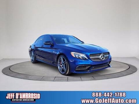 2017 Mercedes-Benz C-Class for sale at Jeff D'Ambrosio Auto Group in Downingtown PA