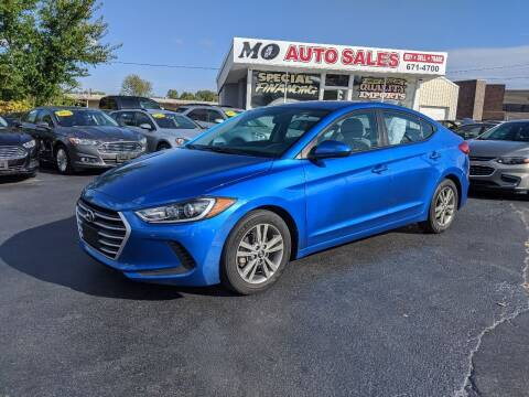 2018 Hyundai Elantra for sale at Mo Auto Sales in Fairfield OH