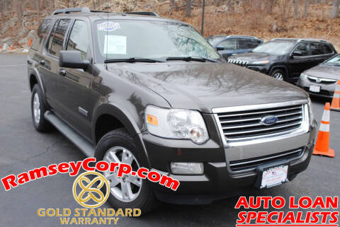 2007 Ford Explorer for sale at Ramsey Corp. in West Milford NJ