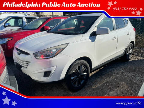 2014 Hyundai Tucson for sale at Philadelphia Public Auto Auction in Philadelphia PA