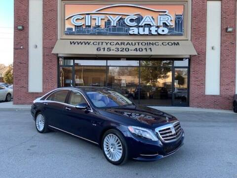 2015 Mercedes-Benz S-Class for sale at CITY CAR AUTO INC in Nashville TN