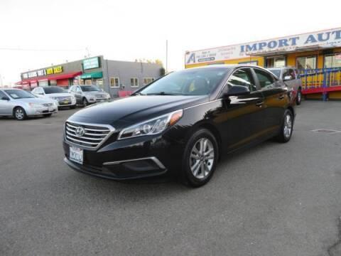 2016 Hyundai Sonata for sale at Import Auto World in Hayward CA