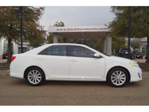 2014 Toyota Camry for sale at BLACKBURN MOTOR CO in Vicksburg MS