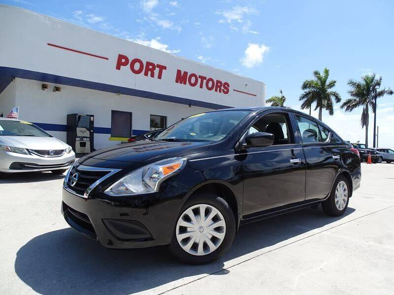 2018 Nissan Versa for sale at Port Motors in West Palm Beach FL