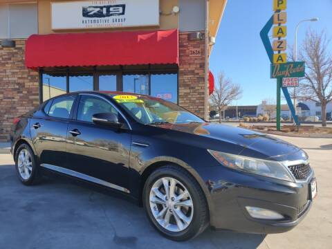 2013 Kia Optima for sale at 719 Automotive Group in Colorado Springs CO