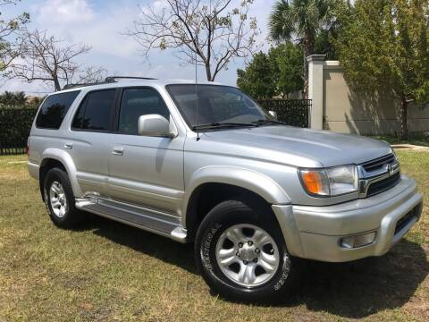 2002 Toyota 4Runner for sale at Kaler Auto Sales in Wilton Manors FL