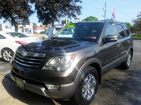 2009 Kia Borrego for sale at Oak Hill Auto Sales of Wooster, LLC in Wooster OH