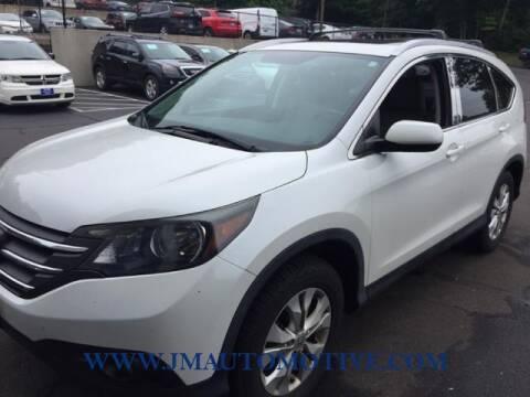 2014 Honda CR-V for sale at J & M Automotive in Naugatuck CT
