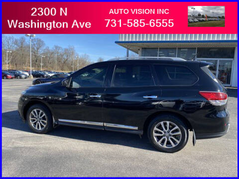 2014 Nissan Pathfinder for sale at Auto Vision Inc. in Brownsville TN
