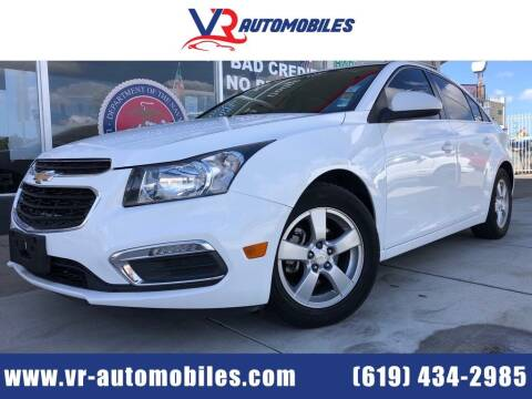 Chevrolet Cruze Limited For Sale In National City Ca Vr Automobiles