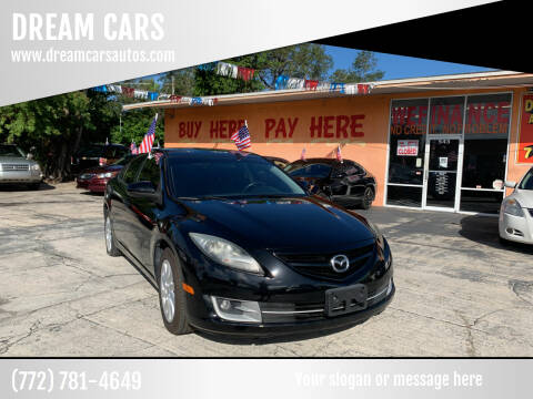 2012 Mazda MAZDA6 for sale at DREAM CARS in Stuart FL