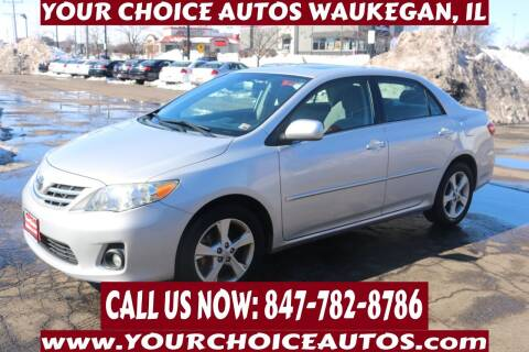 2013 Toyota Corolla for sale at Your Choice Autos - Waukegan in Waukegan IL