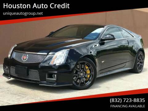 2012 Cadillac CTS-V for sale at Houston Auto Credit in Houston TX