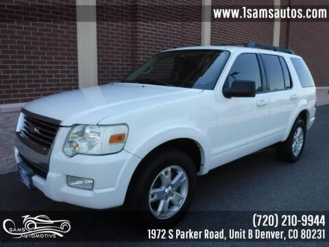 2010 Ford Explorer for sale at SAM'S AUTOMOTIVE in Denver CO