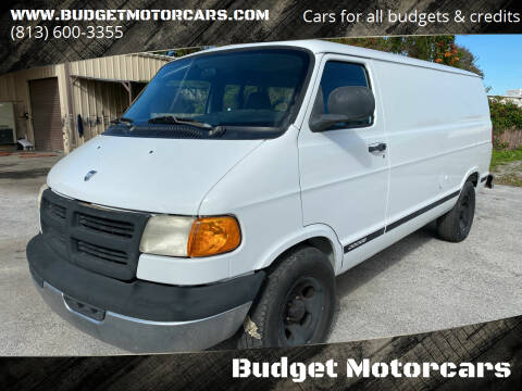 2003 Dodge Ram Cargo for sale at Budget Motorcars in Tampa FL