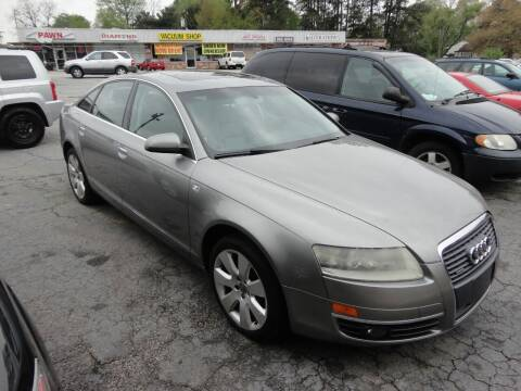 2006 Audi A6 for sale at HAPPY TRAILS AUTO SALES LLC in Taylors SC