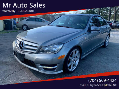 2013 Mercedes-Benz C-Class for sale at Mr Auto Sales in Charlotte NC