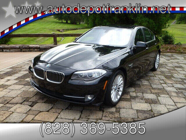 2011 BMW 5 Series for sale at Auto Depot in Franklin NC