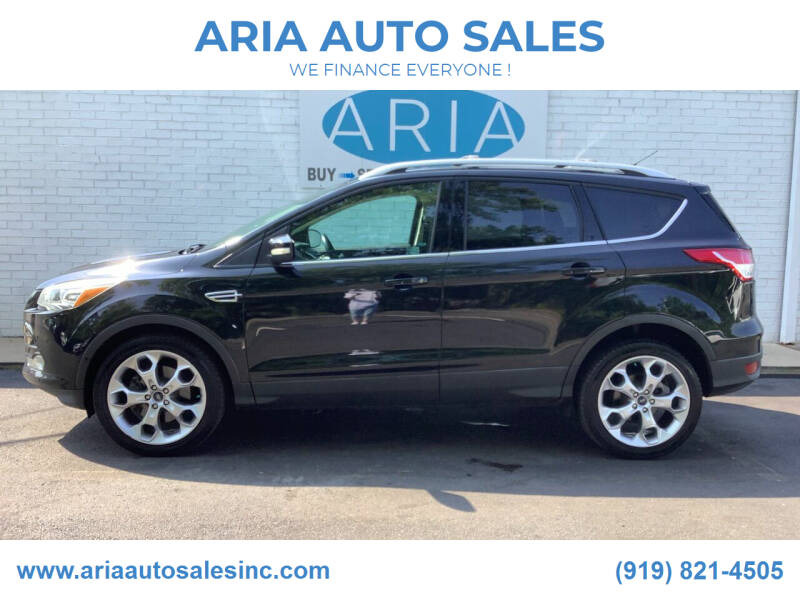 2013 Ford Escape for sale at ARIA  AUTO  SALES in Raleigh NC