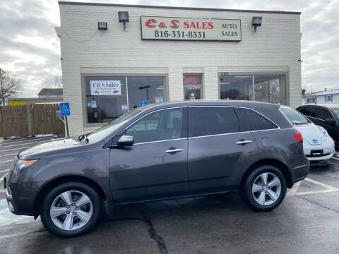 2011 Acura MDX for sale at C & S SALES in Belton MO