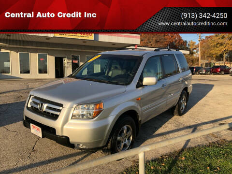 2006 Honda Pilot for sale at Central Auto Credit Inc in Kansas City KS