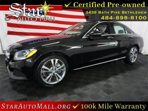 2017 Mercedes-Benz C-Class for sale at STAR AUTO MALL 512 in Bethlehem PA