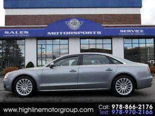2014 Audi A8 L for sale at Highline Group Motorsports in Lowell MA