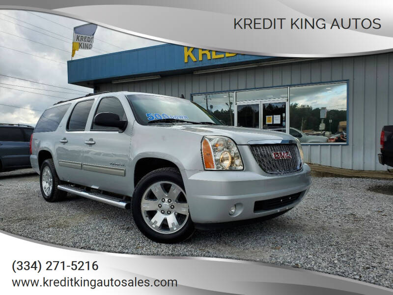 2014 GMC Yukon XL for sale at Kredit King Autos in Montgomery AL