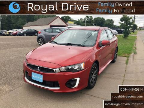 2017 Mitsubishi Lancer for sale at Royal Drive in Newport MN