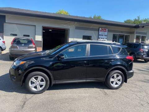 2014 Toyota RAV4 for sale at Auto Outlet in Billings MT