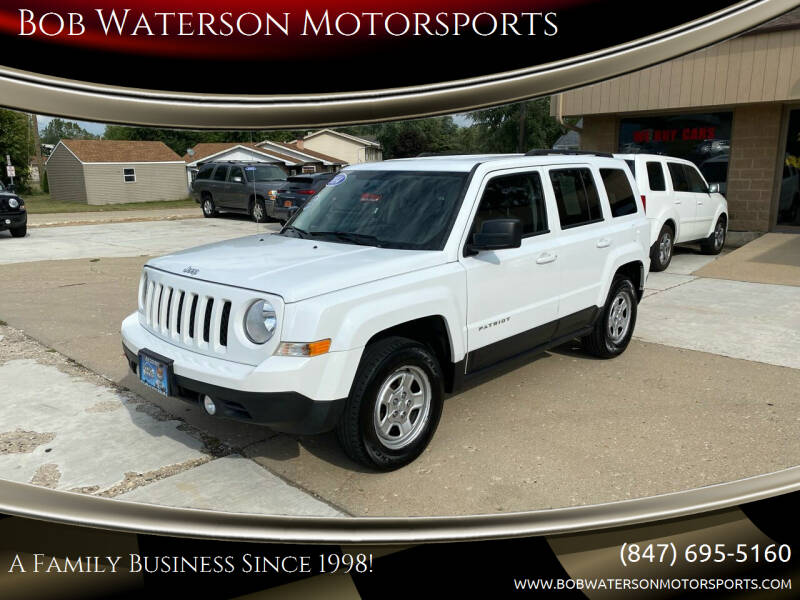 2014 Jeep Patriot for sale at Bob Waterson Motorsports in South Elgin IL
