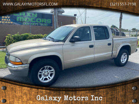 2003 Dodge Dakota for sale at Galaxy Motors Inc in Melbourne FL