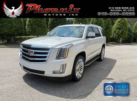 2017 Cadillac Escalade for sale at Phoenix Motors Inc in Raleigh NC