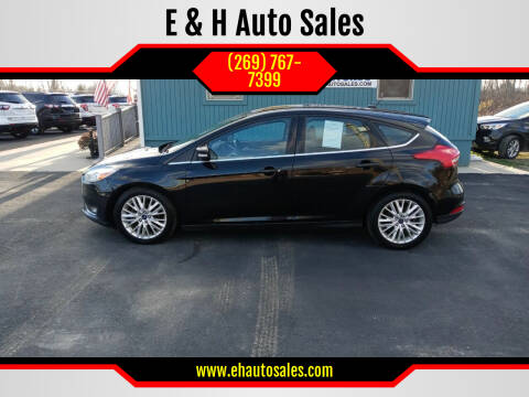 2017 Ford Focus for sale at E & H Auto Sales in South Haven MI