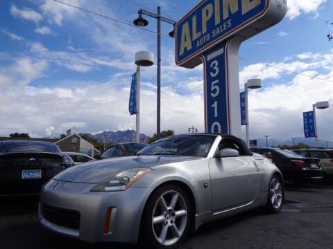 2004 Nissan 350Z for sale at Alpine Auto Sales in Salt Lake City UT