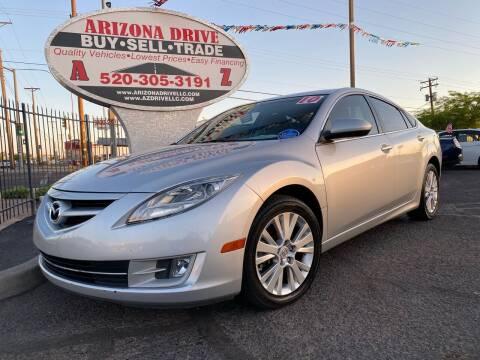 2010 Mazda MAZDA6 for sale at Arizona Drive LLC in Tucson AZ