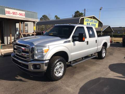 2016 Ford F-250 Super Duty for sale at Texas 1 Auto Finance in Kemah TX