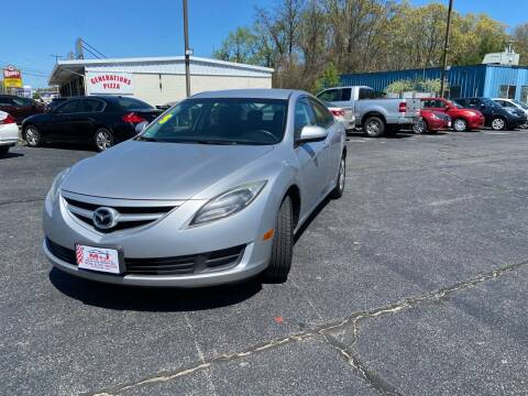 2013 Mazda MAZDA6 for sale at M & J Auto Sales in Attleboro MA