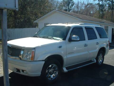 2005 Cadillac Escalade for sale at Northgate Auto Sales in Myrtle Beach SC