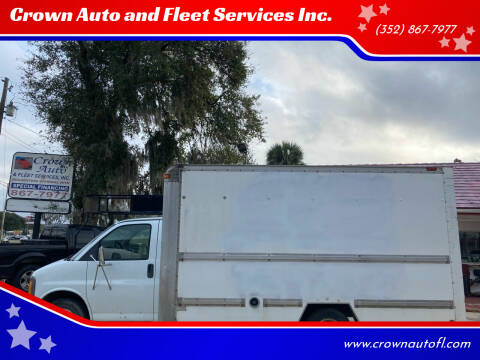 2001 GMC Savana Cutaway for sale at Crown Auto and Fleet Services Inc. in Ocala FL