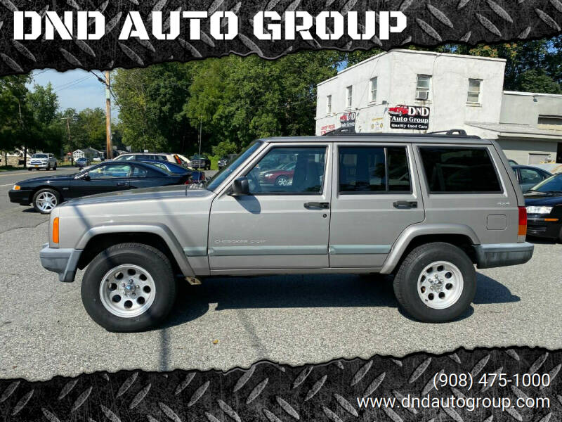 2000 Jeep Cherokee for sale at DND AUTO GROUP in Belvidere NJ