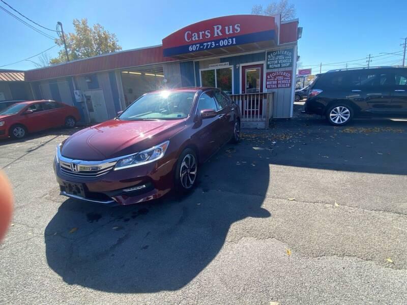 2016 Honda Accord for sale at Cars R Us in Binghamton NY