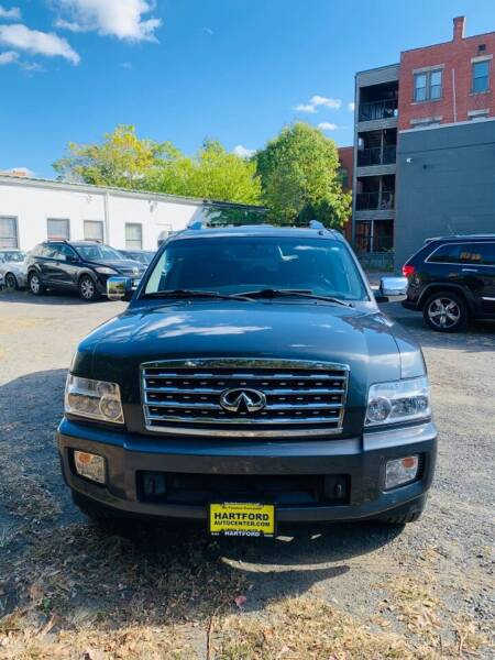 2008 Infiniti QX56 for sale at Hartford Auto Center in Hartford CT