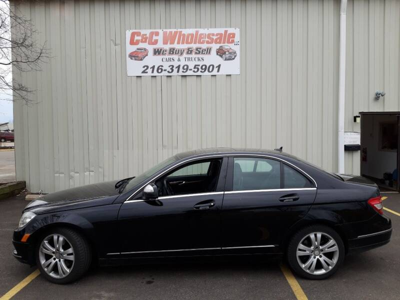 2009 Mercedes-Benz C-Class for sale at C & C Wholesale in Cleveland OH