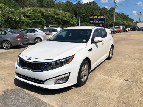 2015 Kia Optima for sale at Oceana Motors in Virginia Beach VA