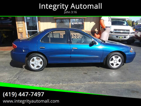 2004 Chevrolet Cavalier for sale at Integrity Automall in Tiffin OH